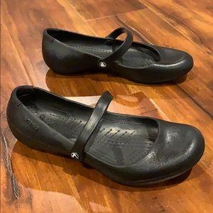 Crocs Mary Jane Rubber Sandal Shoe